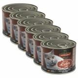 Leonardo conservă pentru pisici - cu ficat 6 x 200 g - Hrana pisici