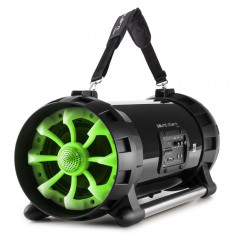 Auna soundstorm 2.0 BOOMBOX, Bluetooth, 40W RMS, USB, AUX, MIC / GIT acționat prin intermediul APP