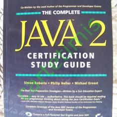 The Complete Java 2 Certification Study Guide - Carte Limbaje de programare