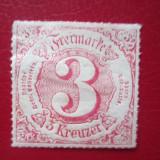 TIMBRE GERMANIA=1866, Nestampilat