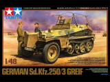 + Macheta 1/48 Tamiya 32550 - German Sd.Kfz 250/3 Greif +, 1:48