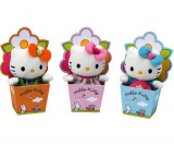 Plush Hello Kitty 15 cm -Cutie Floare- Produs original !! + CADOU