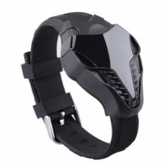 Ceas Military Sport Silicon Cobra cadran negru si curea silicon - Ceas barbatesc, Quartz, Inox, Analog