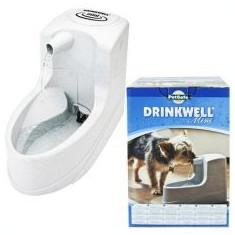 Fântână Mini dozatoare de apă pentru câini şi pisici - 1, 2 L