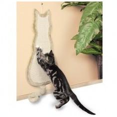 Sisal cu forma de pisica, pentru ascuțirea ghearelor.