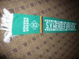 Fular al Suporterilor Echipei  de Fotbal SV Werder Bremen Germania , L= 142 cm
