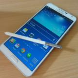 Samsung galaxy note 3 32GB 4G alb impecabil - Telefon mobil Samsung Galaxy Note 3, Neblocat, Single SIM