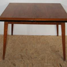 Masa extensibila, solida, din lemn masiv; Masa - Masa living