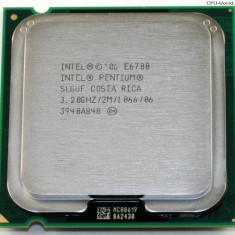Procesor DualCore E6700 3.2 GHZ 1066 FSB GARANTIE 12LUNI ! - Procesor PC Intel, Intel, Intel Core Duo, Numar nuclee: 2, Peste 3.0 GHz, LGA775