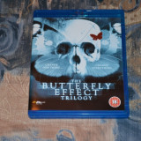 Film - The Butterfly Effect Trilogy [3 Filme, 2 Blu-ray Discs], Import UK - Film thriller Altele, Engleza