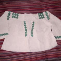 Camasa veche in - Costum populare, Marime: 34, Culoare: Alb