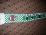 Fular al Suporterilor Echipei  de Fotbal Rapid Viena Austria , L= 150 cm