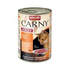 CARNY ADULT hrană cu carne de bovin și carne de pui - 400 g - Hrana pisici