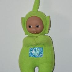 Jucarie plus Personaj Teletubbies, Dipsy (verde), 19 cm cu antenuta cu tot - Jucarii plus