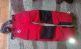 Canada Goose - pantaloni de iarna Tundra Cargo - rezistenti pana la - 25C !, XS sau mai mic, Rosu, Lungi