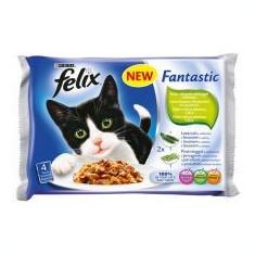 Hrană FELIX în pungă de aluminiu - pește cu legume în jeleu, 400 g - Hrana pisici