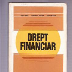DREPT FINANCIAR - Carte Drept financiar
