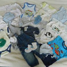 Lot haine bebe baiat 0-4 luni, Marime: Alta, Culoare: Multicolor