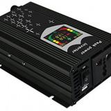 Invertor port USB Display Digital si CPU Control 12V 1000W