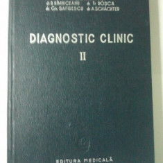 DIAGNOSTIC CLINIC VOLUMUL II - C. C. DUMITRIU ( Ct7 ) - Carte Radiologie