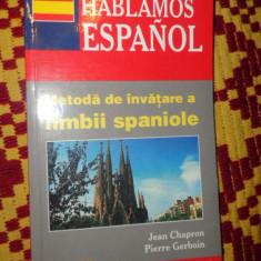 Metoda de invatare a limbii spaniole ( teora ) an 2002/288pag- Jean Chapron