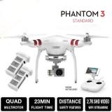 Drona Dji Phantom 3 Standard  + Acumulator Suplimentar + Camera 2.7K