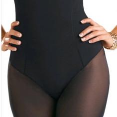 BURTIERA MODELATOARE-CUSATURI FINE LASER-TUL/PICIOR - Lenjerie modelatoare dama, Culoare: Negru, Marime: M, L