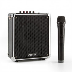 Fenton ST00 PA sistem mobil Bluetooth USB microSD MP3 AUX VHF Baterie microfon fără fir inclus. - Muzica Blues
