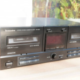Dublu casetofon deck autorevers Technics RS-X302 - Deck audio