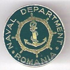 INSIGNA MARINARIE/CONSTANTA : NAVAL DEPARTMENT ROMANIA