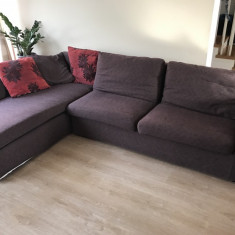 Canapea extensibila, sezlong colt stanga