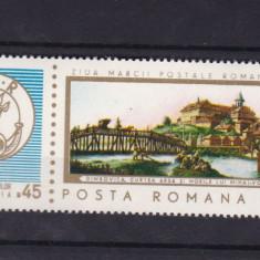 ROMANIA 1968, LP 685, ZIUA MARCII POSTALE ROMANESTI SERIE MNH - Timbre Romania, Nestampilat