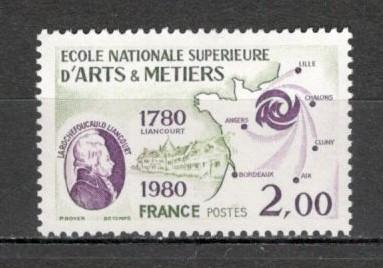 Franta.1980 200 ani Scoala Superioara de Arte si Meserii  SF.593.26