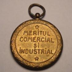 Meritul Comercial si Industrial