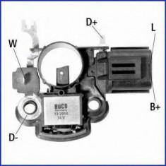 Regulator, alternator MAZDA 626 Mk III 2.2 12V - HÜCO 132914 - Regulator tensiune alternator