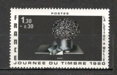 Franta.1980 Ziua marcii postale  SF.593.19 foto