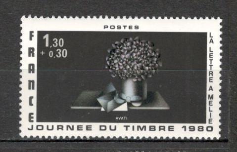 Franta.1980 Ziua marcii postale  SF.593.19