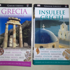 GRECIA CONTINENTALA +INSULELE GRECIEI /// GHIDURI DE CALATORIE, EDITURA RAO - Ghid de calatorie