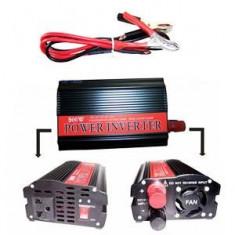 Invertor auto de la 12 v la 220v putere max 500w produs NOU
