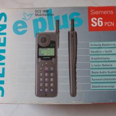 Siemens S6 Original NOU la Cutie Model retro Vintage Nefolosit Stare Perfecta!