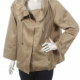 Palton de femei scurta bej de primavara Zara Woman - Palton dama, Marime: L