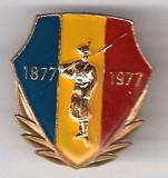 INSIGNA CENTENARUL INDEPENDENTEI 1877-1977