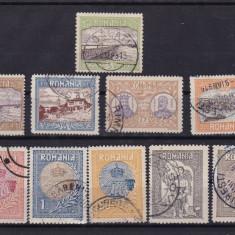 ROMANIA 1913, LP 69, SILISTRA SERIE STAMPILATA - Timbre Romania
