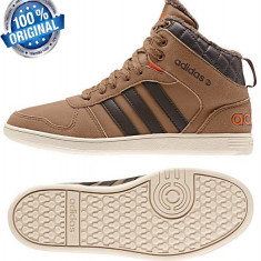 GHETE ORIGINALE 100% ADIDAS HOOPS WINTHER MID CAPTUSITE din germania NR 36 - Ghete dama Adidas, Culoare: Din imagine