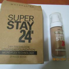 FOND TEN MAYBELLINE SUPER STAY 24H -30 ML ---SUPER PRET, SUPER CALITATE! - Fond de ten