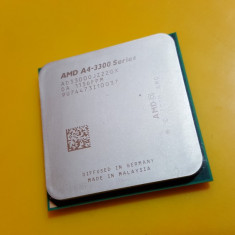 Procesor Dual Core AMD A4-3300, 2, 50GHZ, Socket FM1, Video Integrat DX 11 - Procesor PC AMD, Numar nuclee: 2, 2.5-3.0 GHz