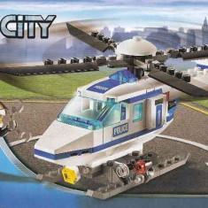 LEGO CITY - Elicopter Politie (7741) + alt set lego cadou
