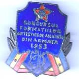 (7) INSIGNA CONCURSUL FORMATIILOR ARTISTICE DE AMATORI DIN ARMATA 1963