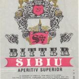 Eticheta Bitter Sibiu