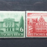 Germania ( Reich ) 1941 – CLADIRI ISTORICE, Serie cu guma si sarniera UN101, Nestampilat
